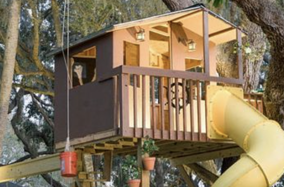 mediniai nameliai vaikams kaina